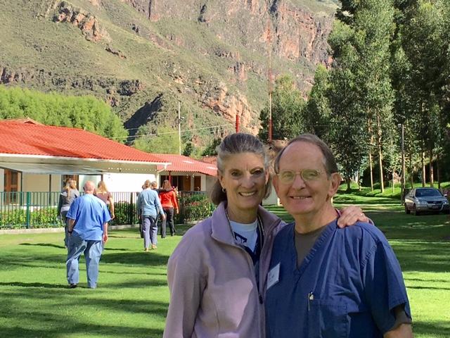 Dr.B and Susalee-Peru