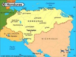 honduras-country-map
