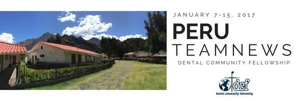 DCF Peru Team News