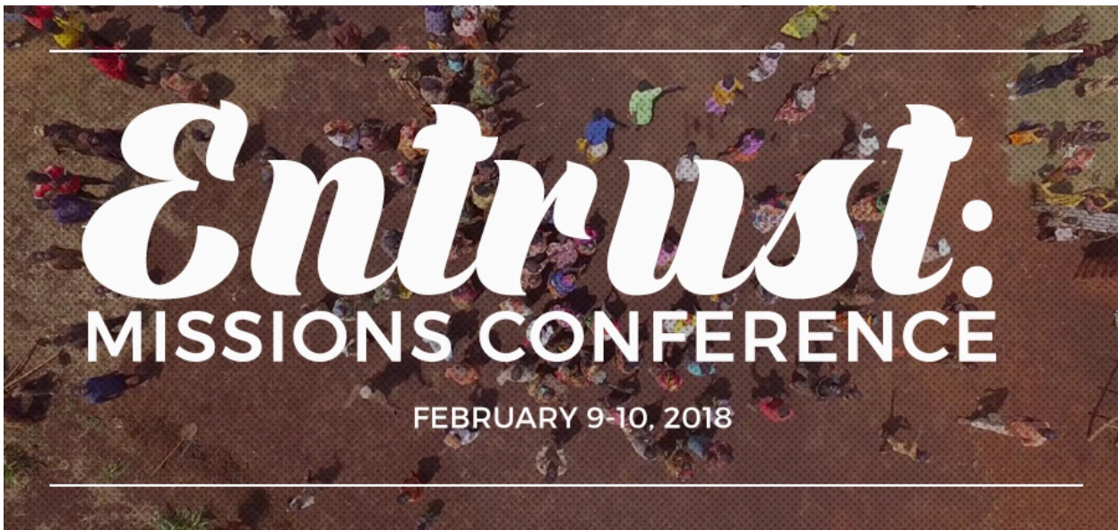 Dr. Bill and Susalee Sasser to Speak at Entrust Missions Conference February 9-10